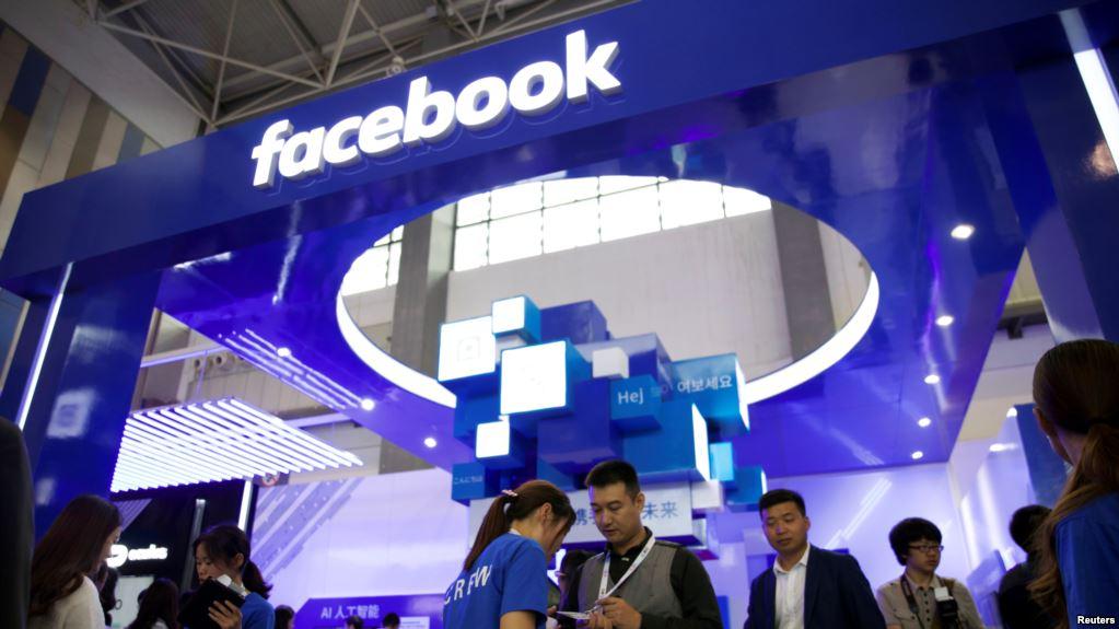 Facebook co mặt tại Trung Quốc