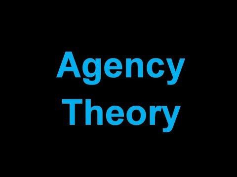 ý nghĩa củaAgency Theory là gì