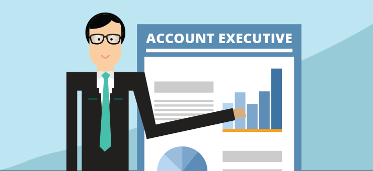 account executive - các vị trí trong agency