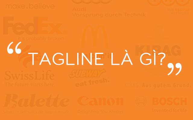 định nghĩa tagline là gì