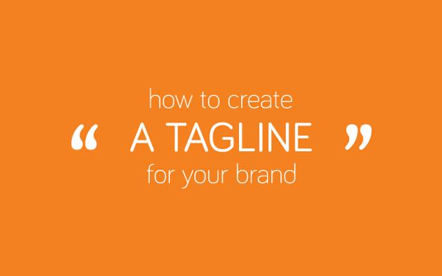 cách để tạo nên tagline là gì