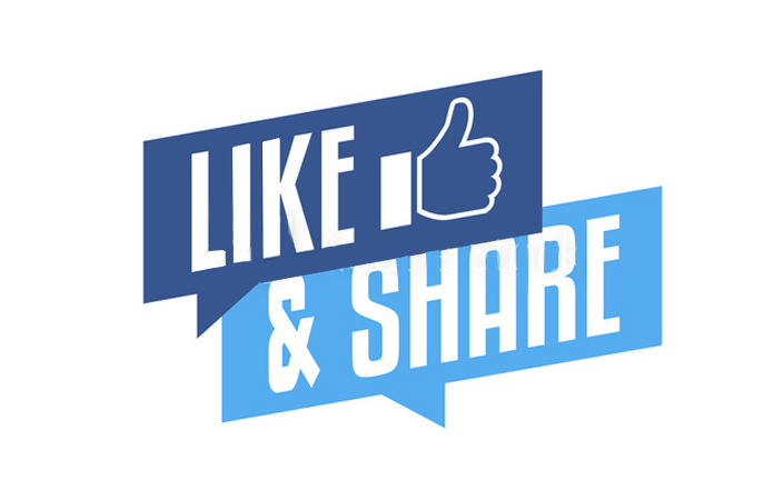 """Hành động tương tác như """"like và share"""" trên Facebook được lựa chọn là tiêu chí đánh giá khi xây dựng kế hoạch truyền thông (Ảnh: Internet)"""