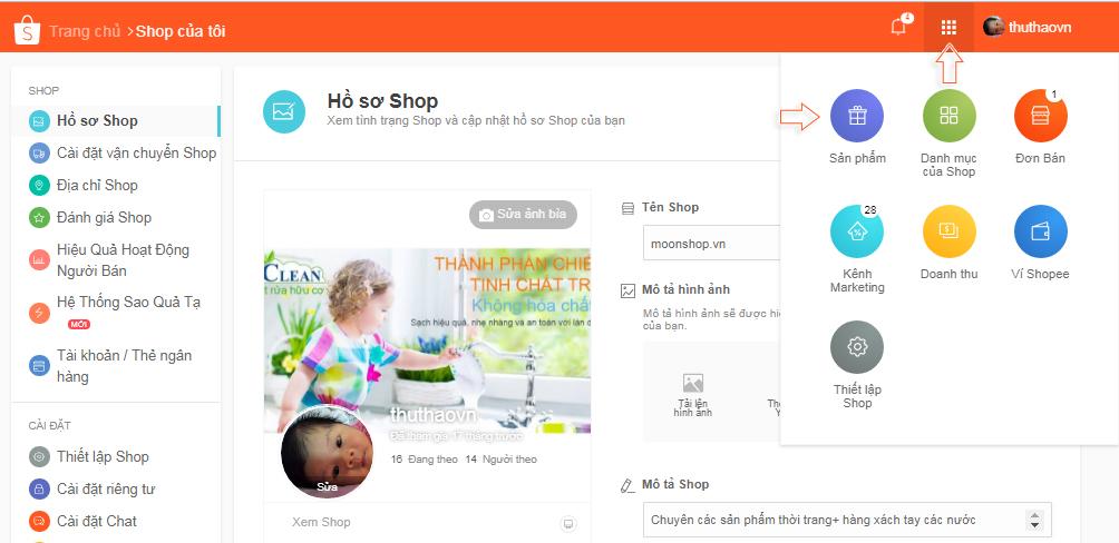 Cách bán hàng trên Shopee - Bước 3: Cách đăng sản phẩm và bắt đầu bán hàng trên Shopee
