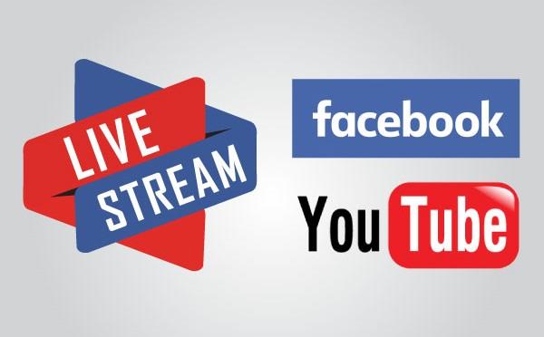 livestream là gì, youtube hay facebook?