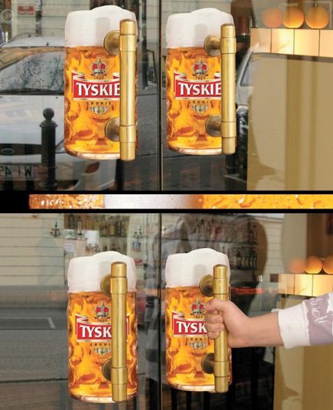 Marketing du kích là gì, chiến thuật marketing du kích của Tyskie