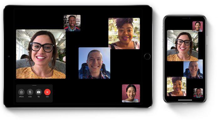 quảng cáo độc đáo của apple với tính năng group facetime