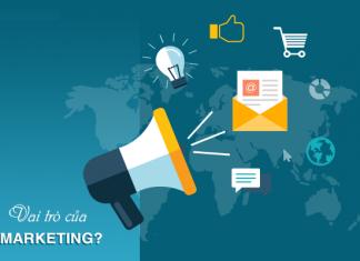 Vai trò của marketing