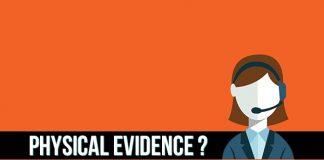 physical evidence là gì