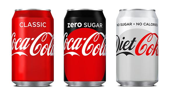 Chiến lược marketing của coca cola - Sản phẩm coca cola không đường