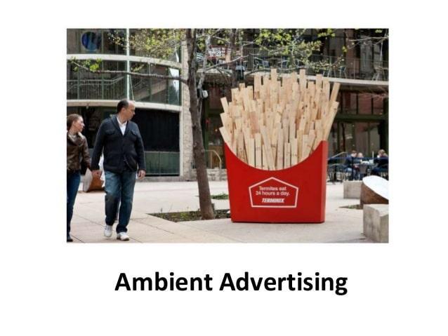 Cách để tạo ra Ambient Advertising đạt hiệu quả tốt