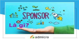 sponsor là gì