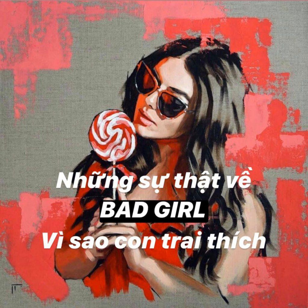 """Dấu hiệu nhận biết một bad girl """"chính hiệu"""""""