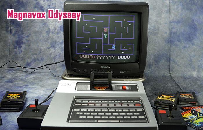 magnavox odyssey là chiếc máy game console đầu tiên